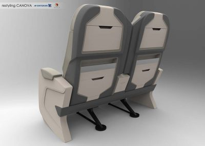2016 Poltrona aereo economy plus Aviointeriors