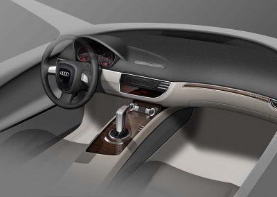 2014 Interno Q3 Audi