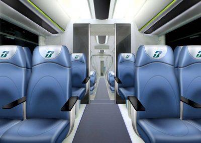 2005 Interno treno alta velocità Trenitalia
