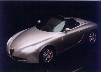 1995 studio Spyder Alfa Romeo