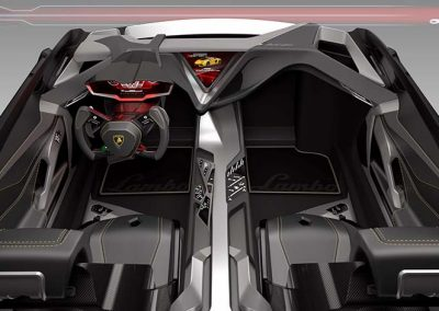 2016 Concept interno auto Lamborghini