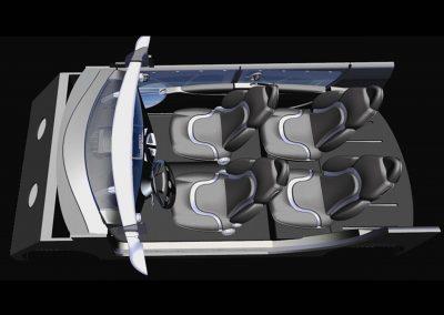 2000 Concept advanced design Leonardo Fiat Auto